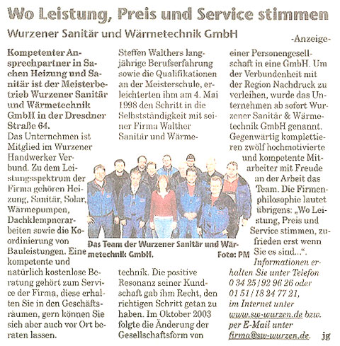 Unsere Firma